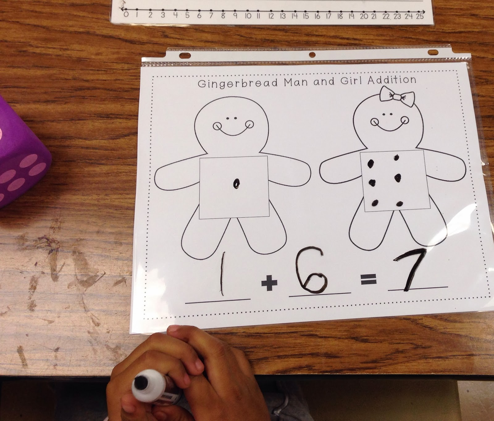 gingerbread man writing activities