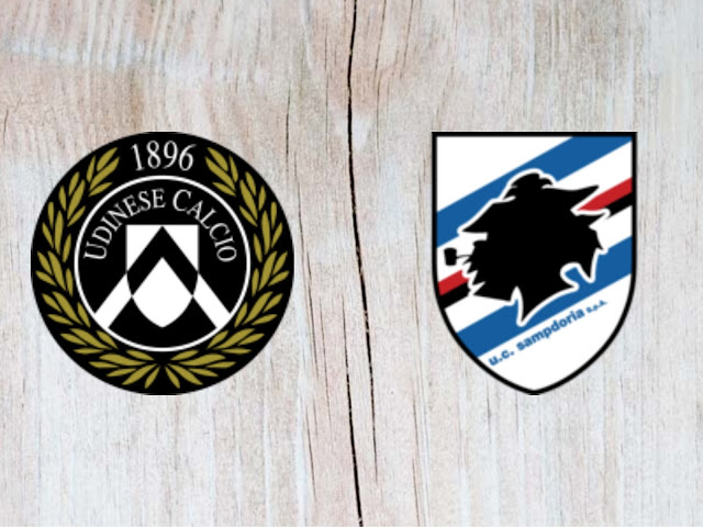 Udinese vs Sampdoria - Highlights - 26 August 2018