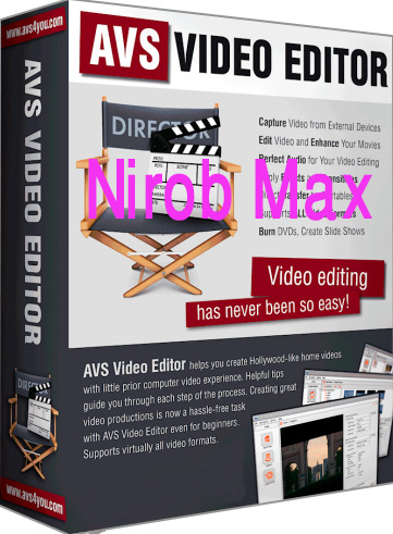 AVS Video Editor Crack is a video editing program that is designed by an Online Media Technologies Ltd. You can execute video capture, to impose a kind of effects, burn DVD, a commodity the movies to different video formats, convert the video to iPod, mobile phones or other portable devices.