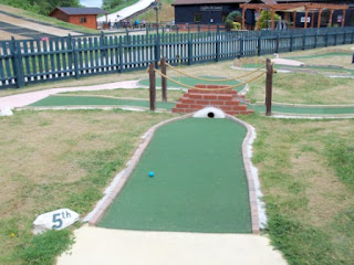 Miniature Golf at Suffolk Leisure Park in Ipswich
