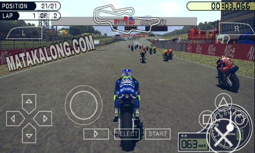 Cara Instal Dan Download Game PPSSPP Moto GP Di Android