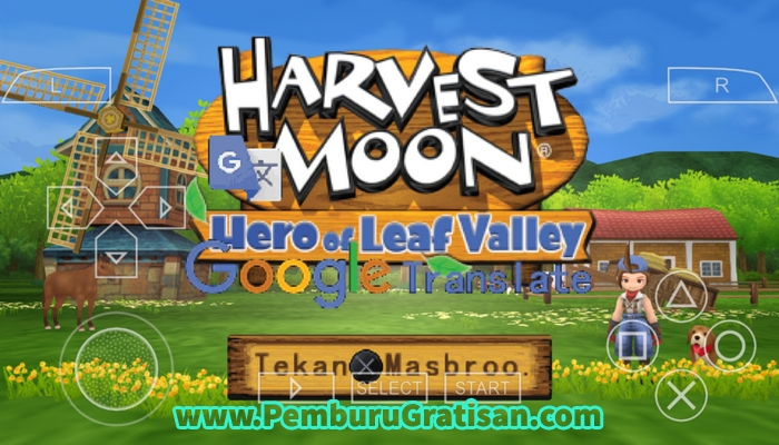 game ppsspp harvest moon holv