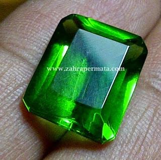 Batu Permat Green Tektite - ZP 234