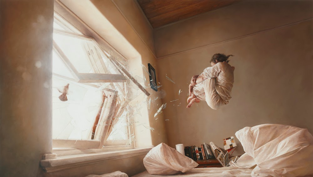 02-A-Perfect-Vacuum-Jeremy-Geddes-Body-Weightlessness-in-Surreal-Paintings-www-designstack-co