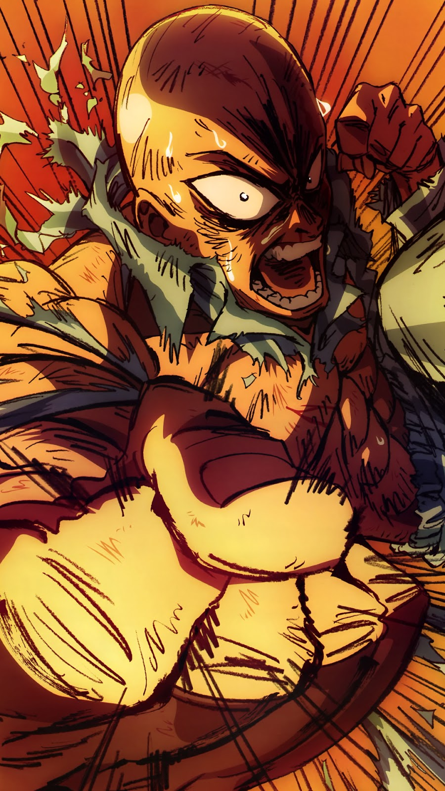 One Punch Man Wallpaper Iphone 6 Plus | MagOne 2016
