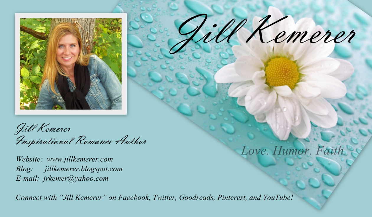 Jill Kemerer: WSG 20: DIY Business Cards
