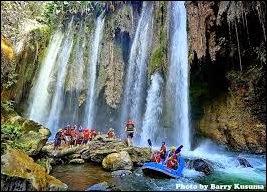 objek wisata Arung Jeram Pekalen di Probolinggo