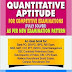Quantitative Aptitude by RS Aggarwal Book Review & Details