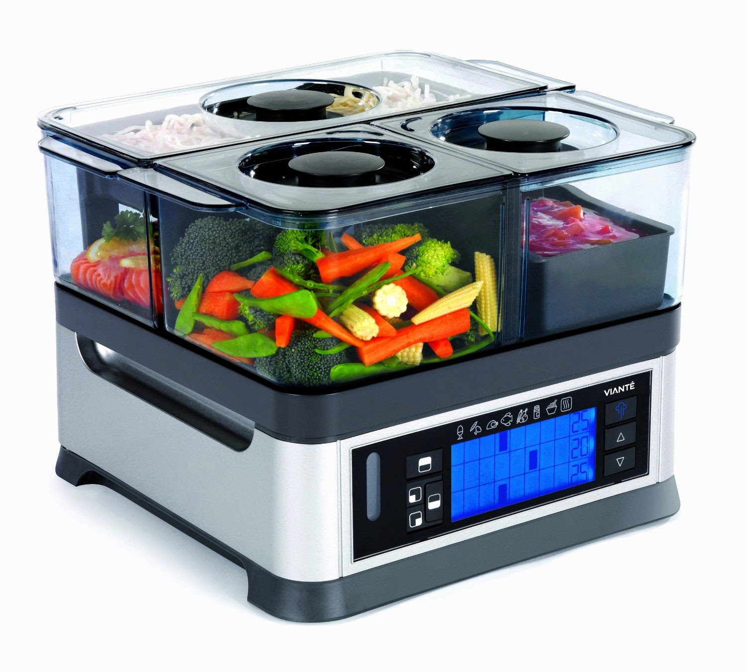 Viante CUC-30ST Intellisteam Counter Top Food Steamer, Review, for healthy cooking & eating