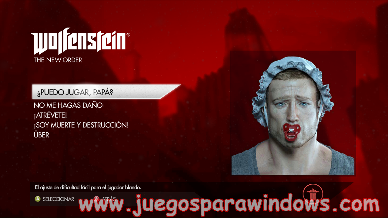Wolfenstein The New Order Full PC ESPAÑOL UPDATE 1(RELOADED) 3