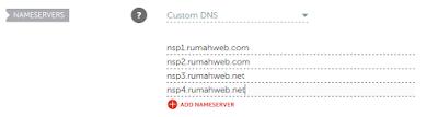Cara menghubungkan domain kehosting