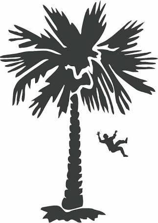 Ilustrasi Jatuh dari pohon