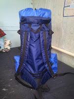 легкий бескаркасный самодельный рюкзак