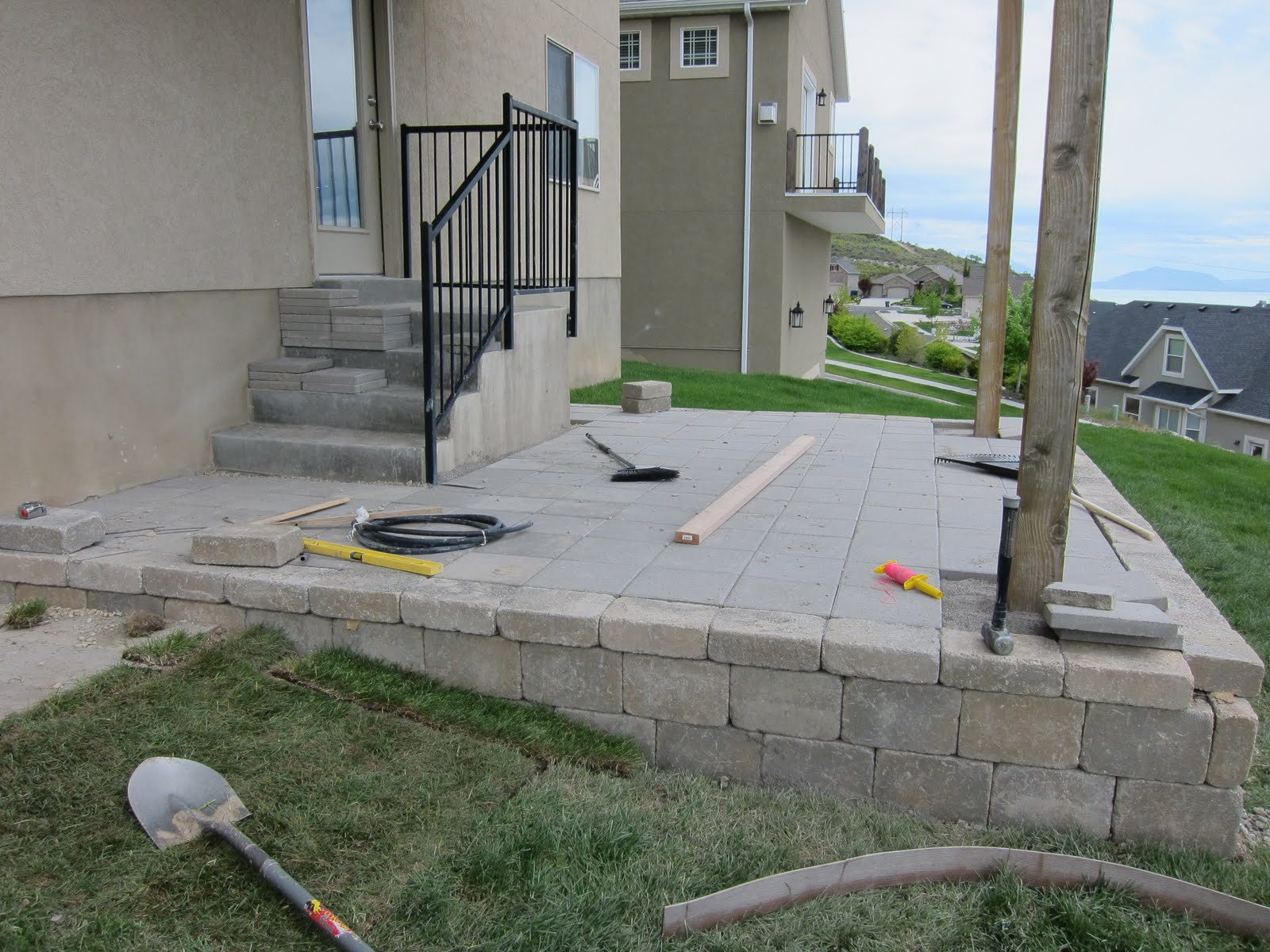 do it yourself patio pavers laura williams