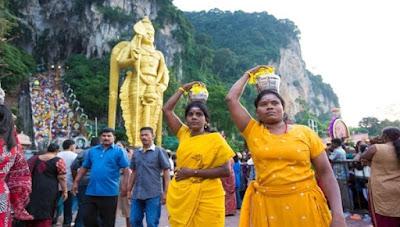 Thaipusam Event In Batu Caves, Malaysia