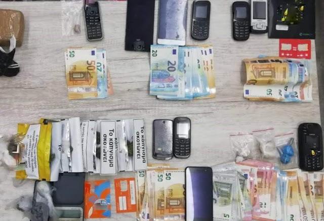 Στις φυλακές Ναυπλίου συλληφθέντες για διακίνηση σκληρών ναρκωτικών