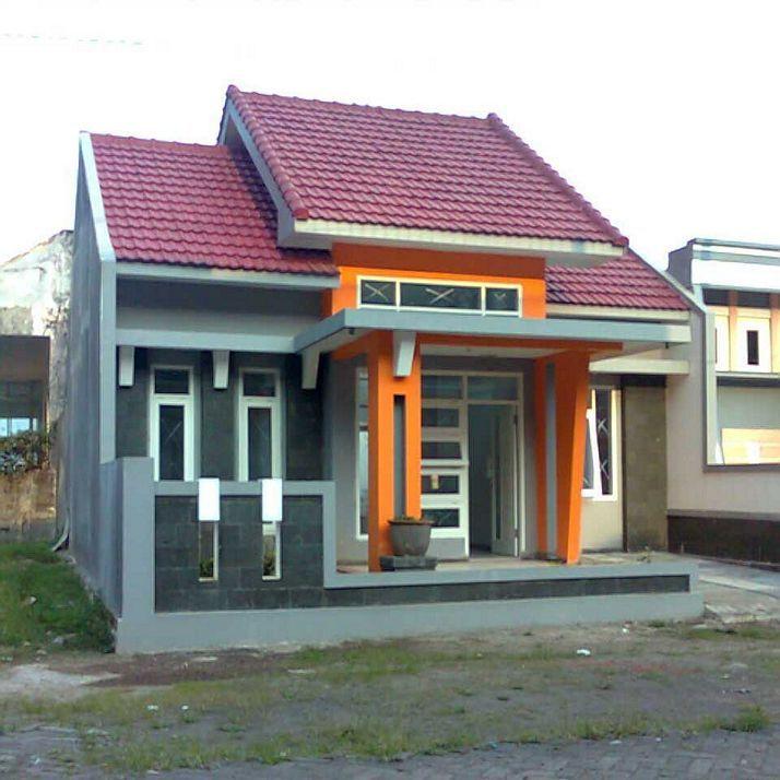 54 Desain Rumah Sederhana Kampung Terlihat Cantik Mewah Gambar Kecil