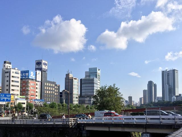 市ヶ谷橋の風景〈著作権フリー無料画像〉Free Stock Photos