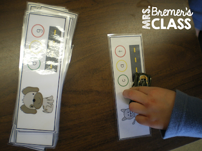 CVC literacy centers, word work activities, and sight word centers for Kindergarten