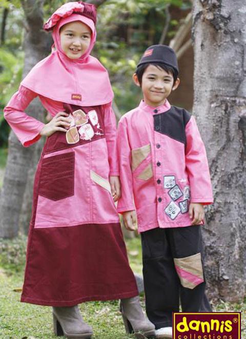 baju muslim dannis anak