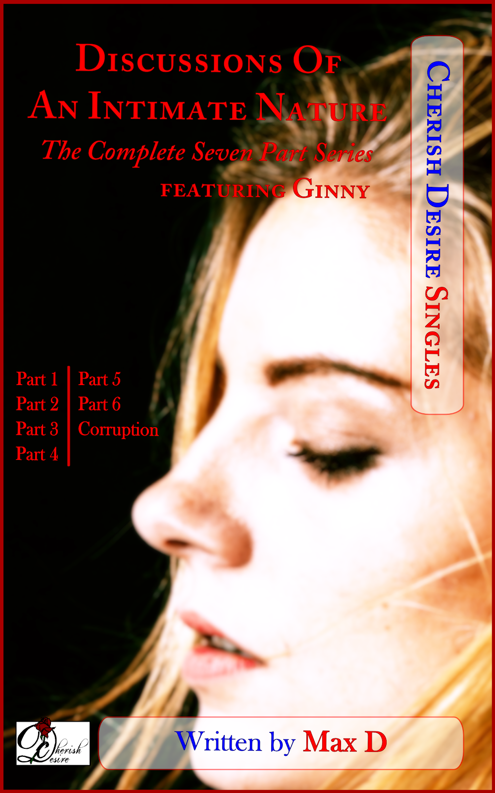 Cherish Desire Singles: Discussions Of An Intimate Nature (The Complete Seven Part Series) featuring Ginny, Ginny, Kendra, Alexi & Andrea, Tom, Max D, erotica