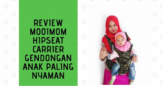 Review Mooimom Hipseat Carrier Gendongan Anak Paling Nyaman