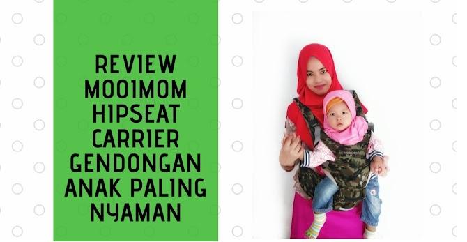 Review Mooimom Hipseat Carrier Gendongan Anak Paling Nyaman