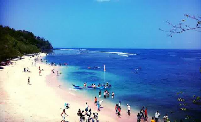 Pantai keren di Jawa Barat