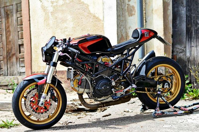 Vintage Ducati Cafe Racer For Sale