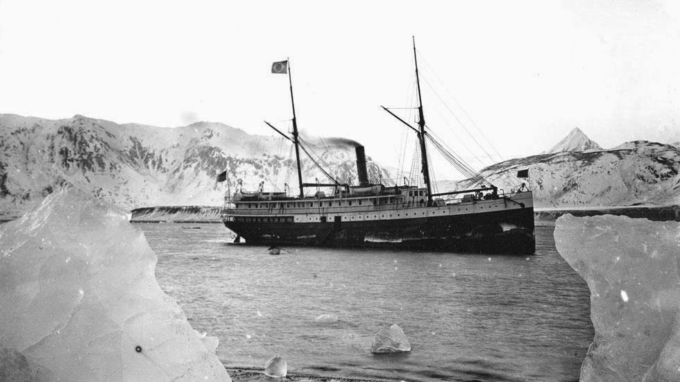 Muir Glacier and Inlet (1890) - Photos of Alaska Then And Now. Get Ready to Be Shocked When You See What it Looks Like Now.