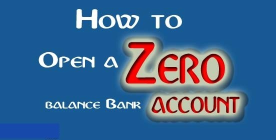 How To Open Zero Balance Account Online In India Prajaakeeya