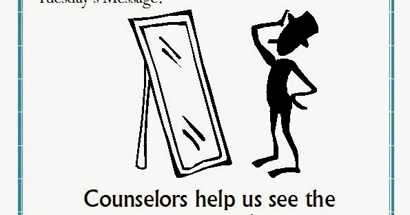 Tuesday's Message For National School Counseling Week