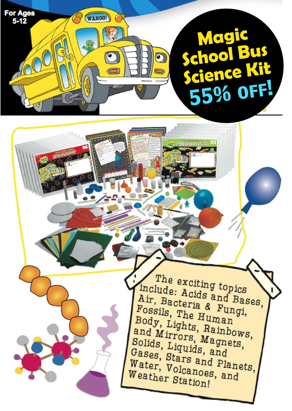 55 Off Magic School Bus Science Kits