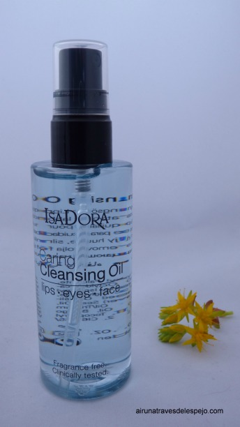 cleasing oil desmaquillante aceite isadora