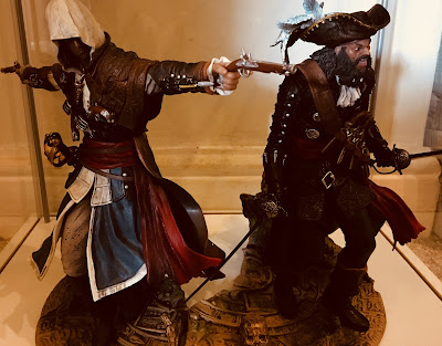 Blackbeard The Legendary Pirate and Edward Kenway The Assassin Pirate
