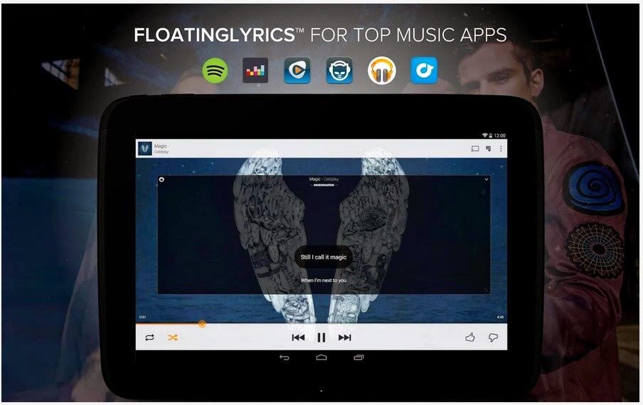 musiXmatch Music Player Lyrics Apk