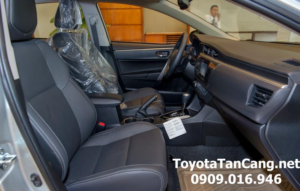 corolla altis 20 v toyota tan cang 34 - Đánh giá Toyota Corolla Altis 2.0V CVT 2015 - Giá trị đến từng chi tiết - Muaxegiatot.vn