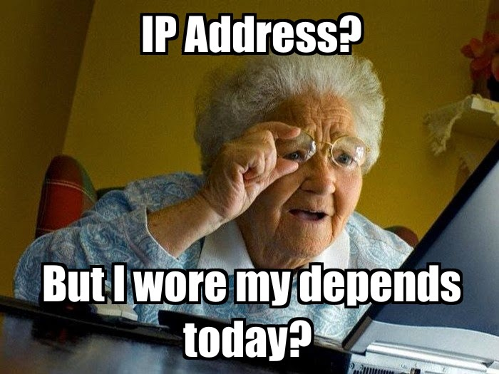 mistaken tech terms ip address