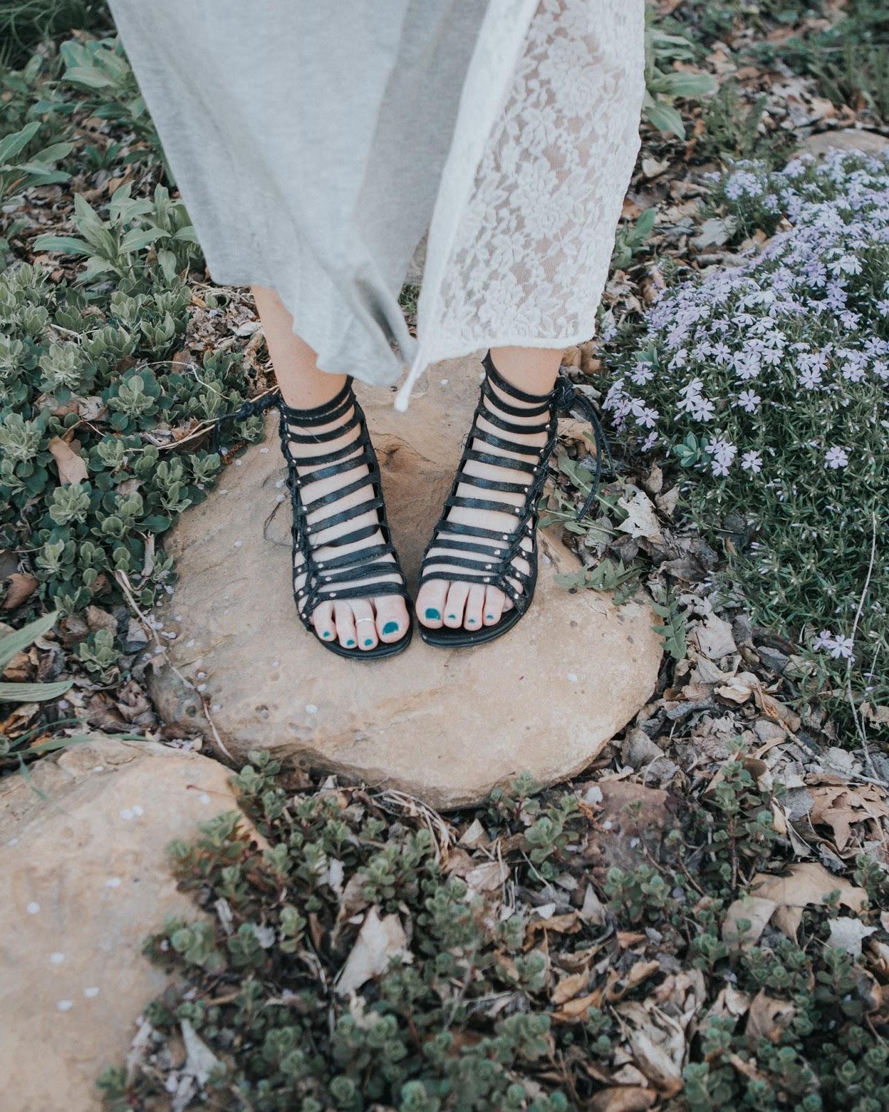 Sandals, Black Sandals, Gladiator Sandals