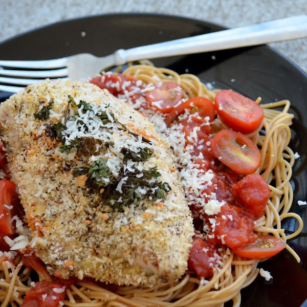 Easy Chicken Parmesan Pasta