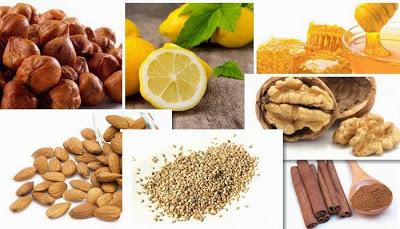 nucile, migdalele, mierea si scortisoara fortifica sistemul imunitar slabit
