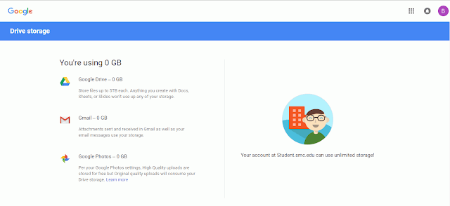 Unlimited Storage Google Drive