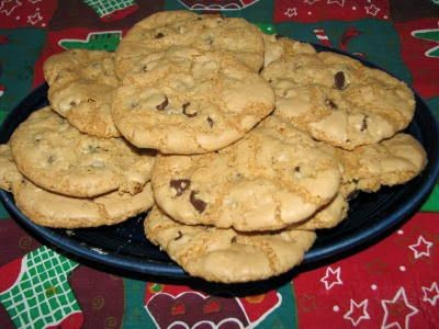 Crispy Gluten-Free Chocolate Chip Cookies
