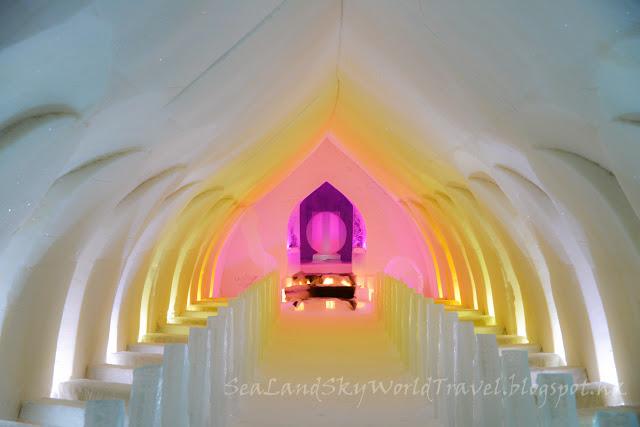 羅凡尼米, Rovaniemi, Arctic Snow Hotel, snow chapel