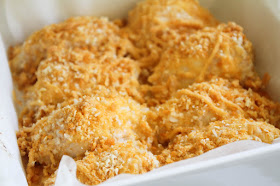 This baked cheddar chicken is so flavorful and delicious. A quick and easy recipe that will be a new family favorite!