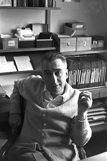 Roland Barthes por Henri Cartier-Bresson