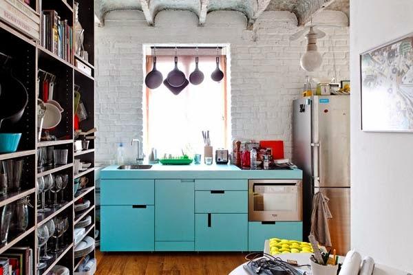Gambar Dapur Minimalis Sederhana Mungil Nan Cantik