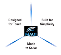 MAUI with OneTouch makes child's play of complex oscilloscope operations