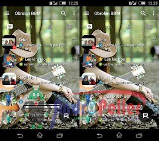 BBM Mod Transparant Terbaru V3.0.0.18 Apk Gratis
