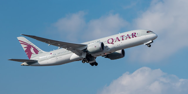 Boing 787 Qatar Airways (Foto: Wikipedia libre)